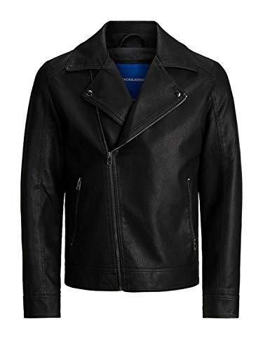 Jack & Jones Jornolan Biker Jacket PS Chaqueta de Cuero sinttico para Hombre