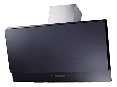 Respekta afzuigkap glas 90 cm LED zwart & touchscreen