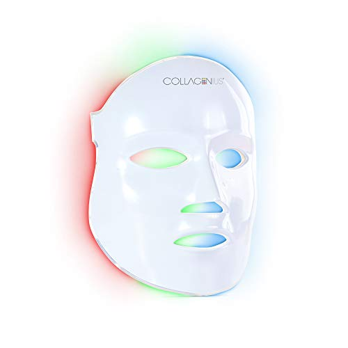 Collagenius Collagen Therapy LED Facial Mask for Skin Treatments at Home,Wrinkles,Acne...