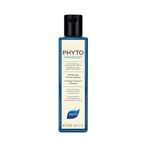 Phyto Phytoapaisant Shampoo Trattante Lenitivo Non Aggressivo per il Cuoio Capelluto Sensibile e Irritato, Formato da 250 ml