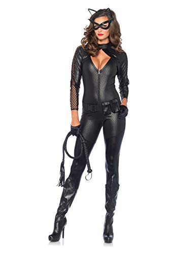 Leg Avenue 85412 - Costume per travestimento da gatta Wicked Kitty, Donna, S