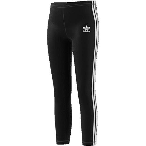 adidas - Running Kompressionshosen für Mädchen in Black/White, Größe 110