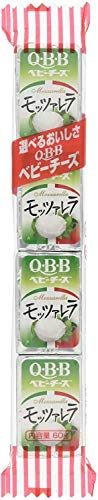 【冷蔵】Q・B・B モッツァレラベビーチーズ4個(60g)X10袋