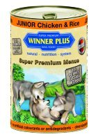 Winner Plus mangime Umido Cani 400gr Junior Chicken & Rice