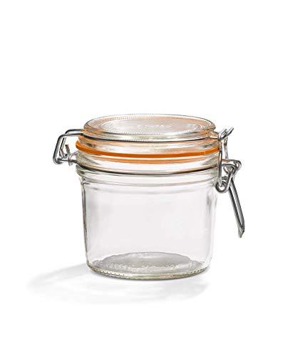 Le Parfait 1978002 - Juego de 6 tarros herméticos (350 ml, 8,5 cm)