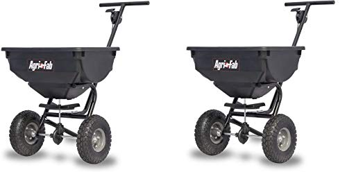 Best Prices! Agri-Fab 45-0531 85-lb 85 lb Deluxe Push Spreader, Black (Pack of 2)