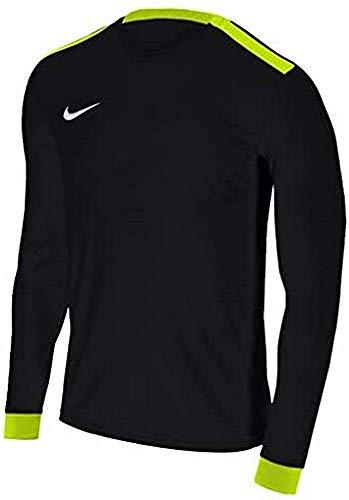 Nike M NK Dry PRK DRBY II JSY LS Maglietta Manica Lunga, Uomo, Black/Volt/Volt/White, XL