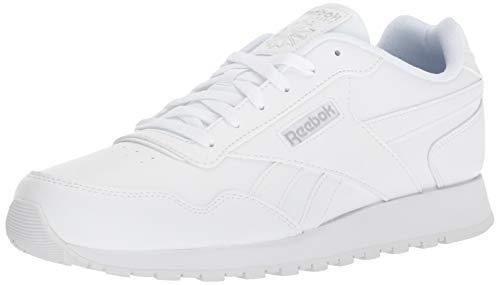 Reebok Men's Classic Harman Run Sneaker,white/steel, 10 M US