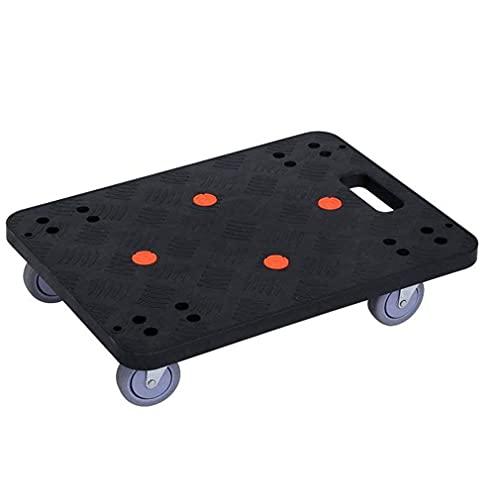 N/Z Hauptausstattung Trolley Easy Moveing Möbel Plattform Dolly Rectangle Utility Cart Wheeled Moving Transporter für Draws Garderobe Waschmaschine Trockner Sofa