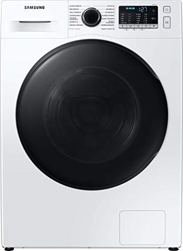 Samsung WD91TA049BE,EG Waschtrockner , 9+6 kg , 1400 U/min , Weiß , SchaumAktiv , AirWash , Hygiene-Dampfprogramm