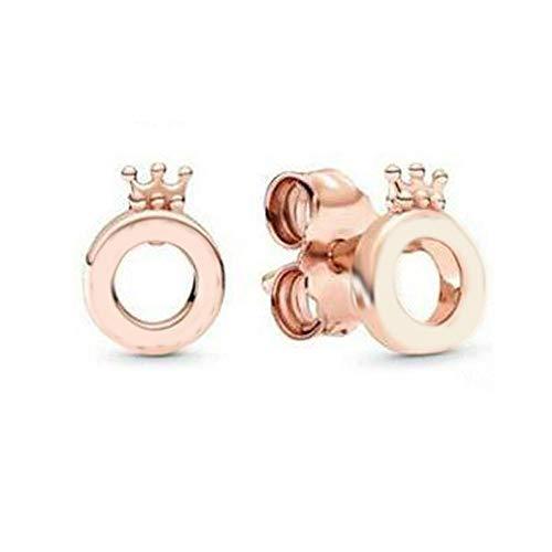Earrings Women Studs 925 Sterling Silver Stud Earrings Women Jewelry Rose Earring