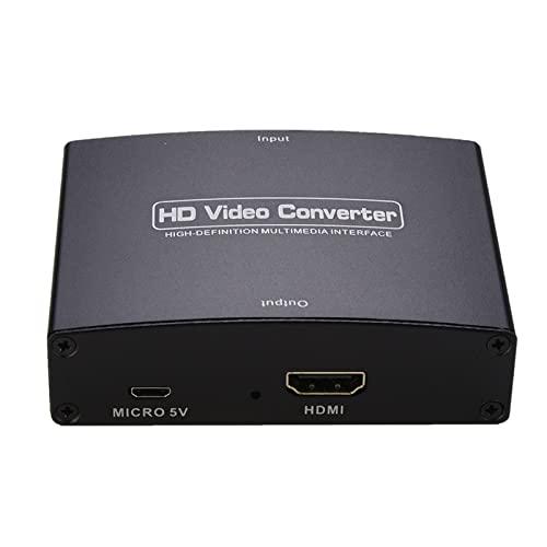 MERIGLARE Adaptador 5RCA RGB a HDMI Componente a HDMI HDMI V1.4 1080P SCART Accesorios Video Audio Convertidores Upscaler para DVD PSP PS2 PS3 PS4
