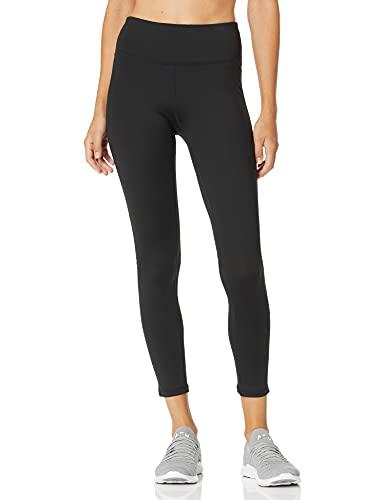 Calvin Klein Women's Premium Performance High Waist Moisture Wicking Legging, White Combo, Medium