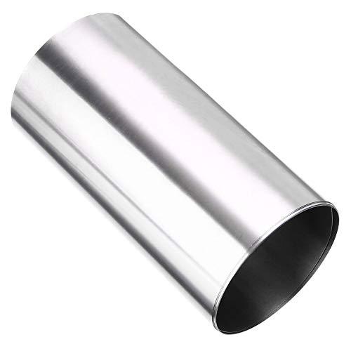 WenJ Titanfolie Ti Thin Plate Blatt Silber for Das Metallhandwerk Oder DIY Material, Luft- Und Raumfahrt, Schiffbau, Chemische Maschinen