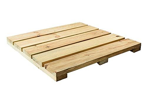 Baldosas de madera de pino impregnada a presión de Holz4home.
