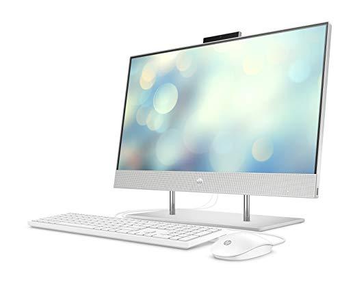 HP Pavilion 24-k0011ng (23,8 Zoll / Full HD) All-in-One PC (Intel Core i7-10700T, 8GB DDR4 RAM, 512 GB SSD SSD, Intel UHD-Grafik 630, Windows 10) weiß
