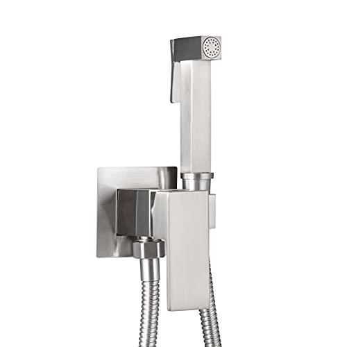 LOSCHEN Doccetta per WC, Doccetta per bidet Calda/Fredda Doccetta Bidet per WC Spruzzatore del bidet per la toilette