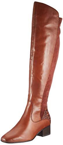 Tamaris Damen 1-1-25518-25 Kniehohe Stiefel, Braun (Brandy Comb), 37 EU