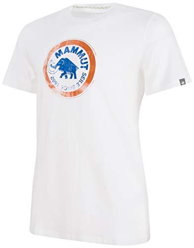 Mammut Herren T-Shirt Seile, White-Ultramarine, XL