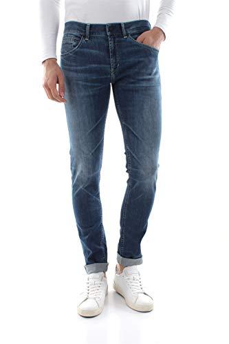 Dondup George UP232Z - Limited Edition Jeans Herren Denim MEDIUM Blue 29