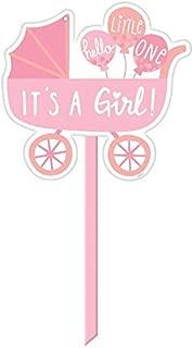 Amscan 190433 It's a girl  Baby Girl Yard Sign