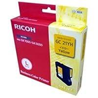 (業務用5セット) RICOH(リコー) ジェルジェットインクL GC21YH ds-1739695