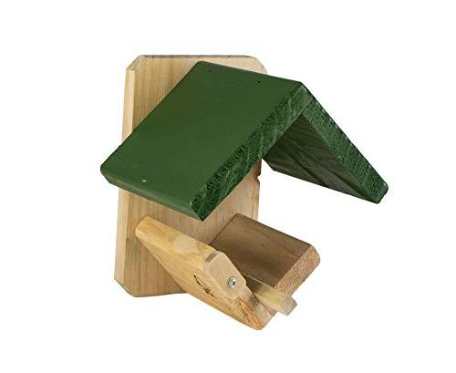 CJ Wildlife Dublin Wildvogel-Futterstation, grünes Dach/brauner Boden, Einheitsgröße