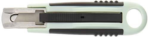 フォーエバー 日本製 銀チタンスプリングバック式カッター (替刃別売) GTS-G