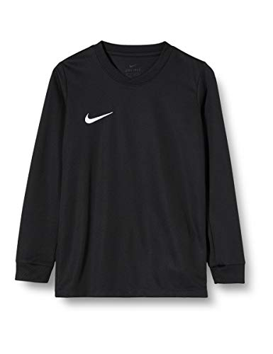 Nike Kinder Park VI Fußballtrikot , Schwarz (Black/White/010), S