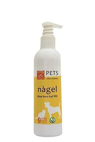 Benessence - Gel Puro di Aloe Vera al 99% per Cani e Gatti - 250 ml