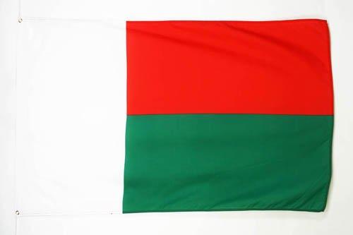 AZ FLAG Flagge MADAGASKAR 150x90cm - MADAGASSISCH Fahne 90 x 150 cm - flaggen Top Qualität
