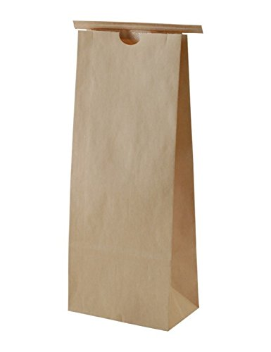Buy Bargain BAP 1 LB Kraft Poly Lined Paper Bag with tin Tie (500 pcs)