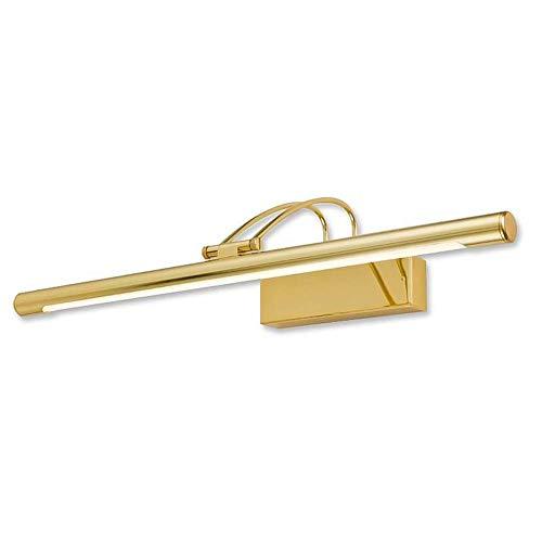 BJClight Klassiker 22 Zoll führte goldenes Eitelkeits-Licht-Spiegel-Licht, Wand-Licht 9w mit Metalleisen-Acrylwasserdichter Wand-Wäsche-Lampe für neutrales Licht der Badezimmer-Aufbereiter-55cm