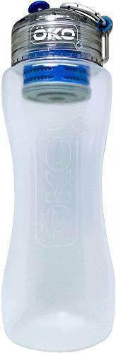 OKO H2O Level-2 Advanced Filtration Water Bottle, 550ml, Sky