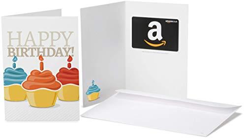 Amazon.co.uk Gift Card in a Greeting Card (Birthday Cupcake Greeting Card)