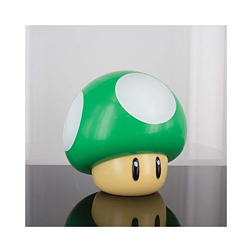 Paladone Lampe Super Mario 1 Up Mushroom, mehrfarbig