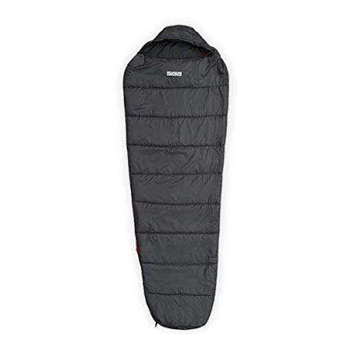 Sigg Mumien Schlafsack grau Schlafsack Outdoor Camping Wandern VS8003