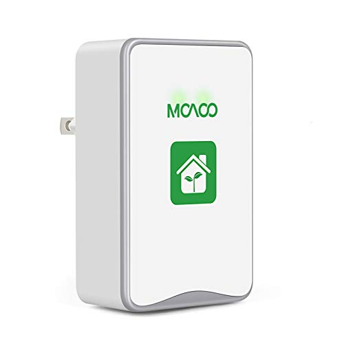 MOAOO Plug-in Air Purifier, Air Purifiers for Home, Air Cleaner for Smoke Pet Smell Odor, Mini Portable Ionizer Air Purifier for House Bedroom Office