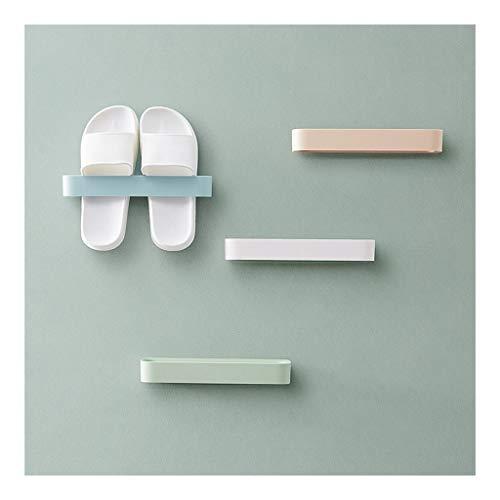 Wand- Sticky hängend Schuhhaken Regal Rack-Schuhe Halter-Speicher Hot Plastikschuh Regal Shoebox Ständer (Color : Orange, Size : 5 Packs)