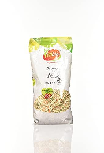 Vivibio Zuppa d'Orzo - 1 confezione da 400 gr