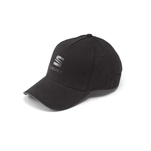 Seat 6H1084300GBA Basecap Kappe Cap Baseballcap, Schwarz/Anthrazit