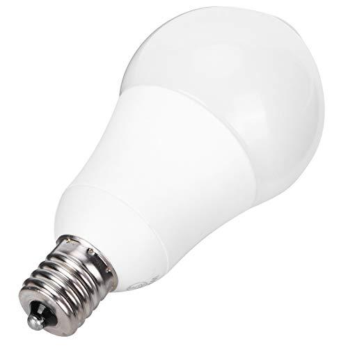Bombilla con sensor, bombilla con sensor humano de inducción infrarroja E17, lámpara LED de 5 W para pasillos, balcones, almacenes, 100-265 V(Warm White 2800K)
