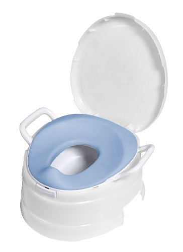 Primo 4-In-1 Soft Seat Toilet Trainer and Step Stool White