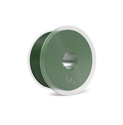 BQ Easy Go - Filamento PLA de 1.75 mm (100% PLA, resistente a la acetona, rápido endurecimiento) color bottle green