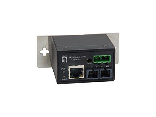 Level One 10/100BaseT to 100Base-FX Transceiver (2 km, MMF, RJ-45, ST)