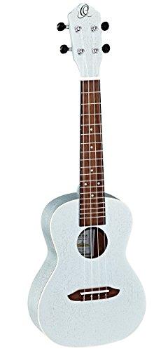 Ortega Guitars Earth Series, ukelele de 4 cuerdas, derecha (RUSILVER)