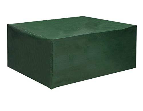 WOLTU GZ1194gn-a Housse de protection résistante aux déchirures, couverture meubles de jardin imperméable pour les mobiliers 242x162x100cm,Vert