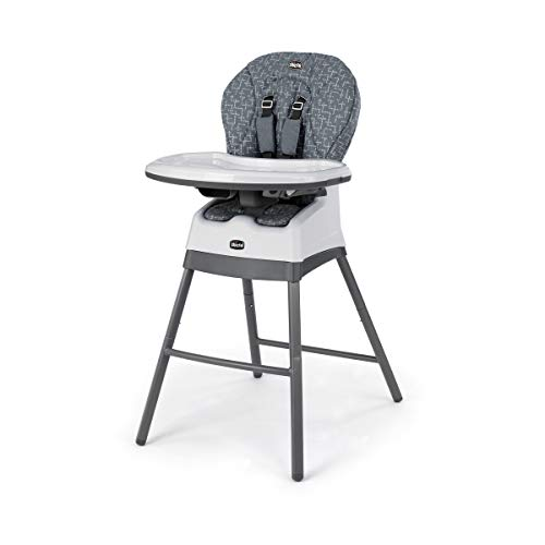 Best Buy! Chicco Stack 1-2-3 Highchair - Dots, Grey