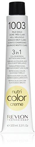 REVLON PROFESSIONAL Nutri Color Crème, 1003 Hell Hellgold, 1er Pack (1 x 100 ml)