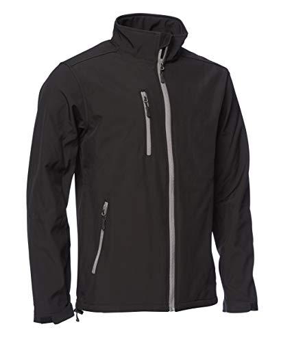 Unbekannt Elka Edge Softshell-Jacke, Größe L, Schwarz